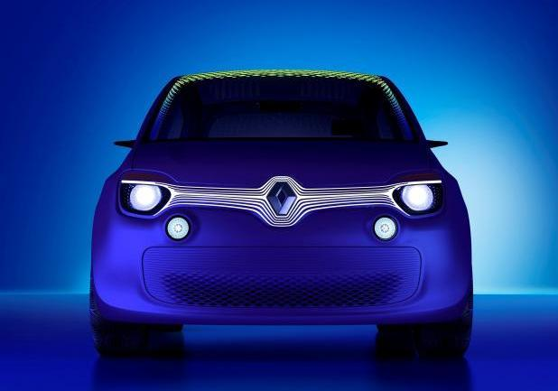 Renault concept car Twin'Z anteriore