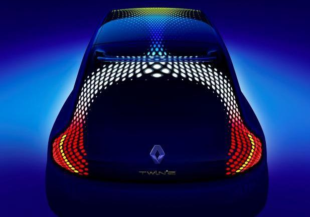 Renault concept car Twin'Z posteriore