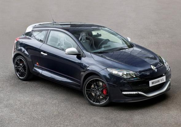 Renault Mégane RS Red Bull Racing RB8 tre quarti anteriore lato destro