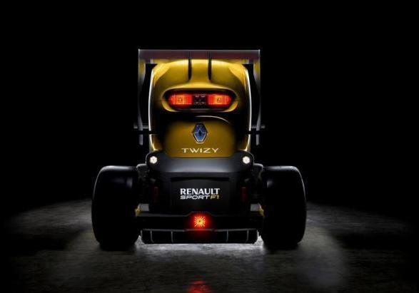 Renault Twizy RS F1 posteriore