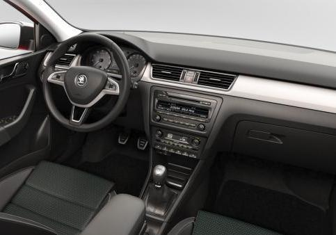 Skoda Rapid Spaceback interni