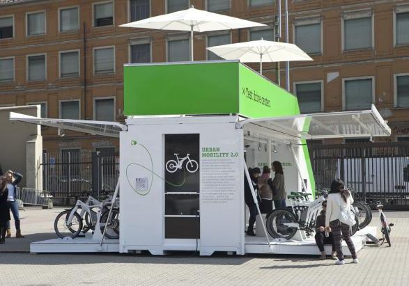 Smart ebike al test drive center