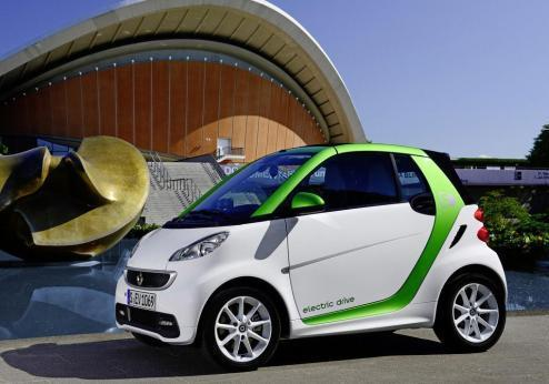 Smart Electric Drive tre quarti anteriore