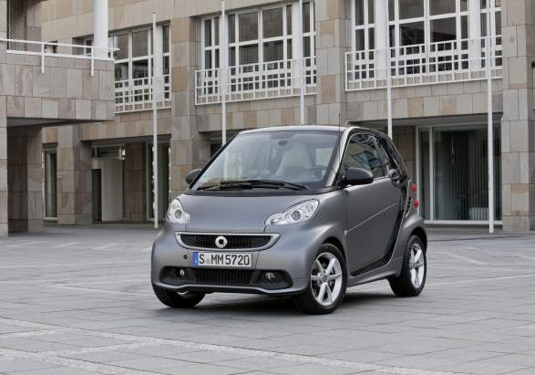 Smart Fortwo restyiling 2012