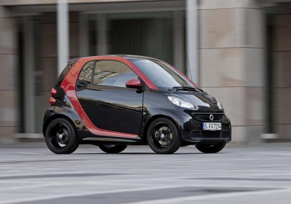 Smart Fortwo Sharp Red 2