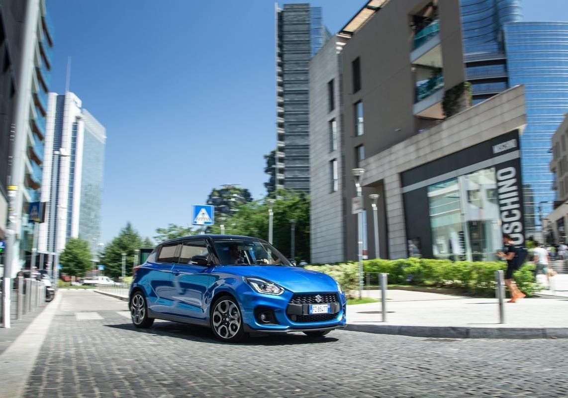 Suzuki Swift Sport Hybrid test drive