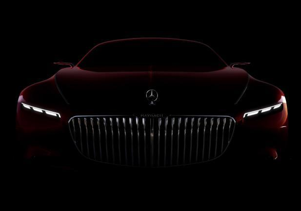 Vision Mercedes-Maybach 6 frontale