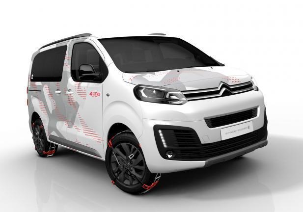 Citroën Spacetourer E 4X4 Concept tre quartianteriore