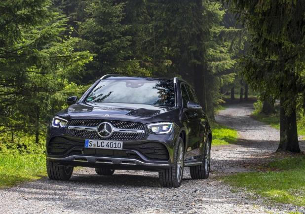 Mercedes GLC facelift 2019 movimento