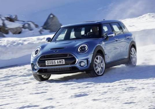 Mini Clubman All4 tre quarti anteriore