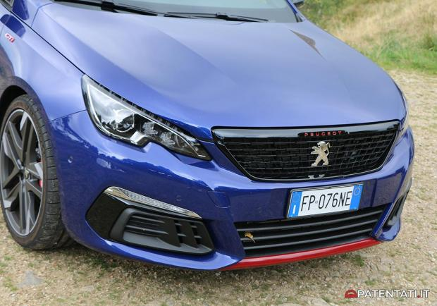 308 GTi by Peugeot Sport anteriore