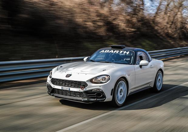 Abarth, così cambia la 124 rally 2019