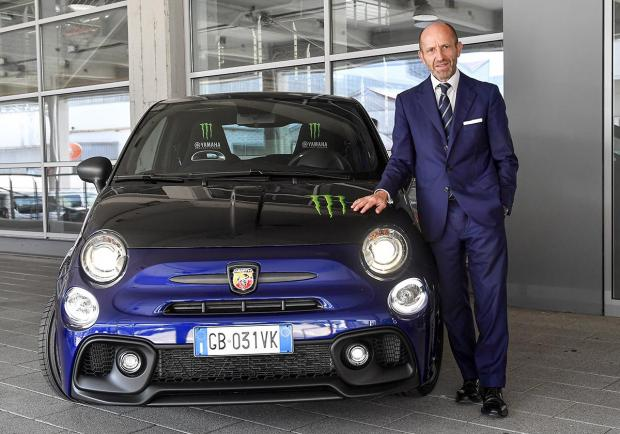 Abarth, a Misano con la nuova 595 Monster Energy Yamaha