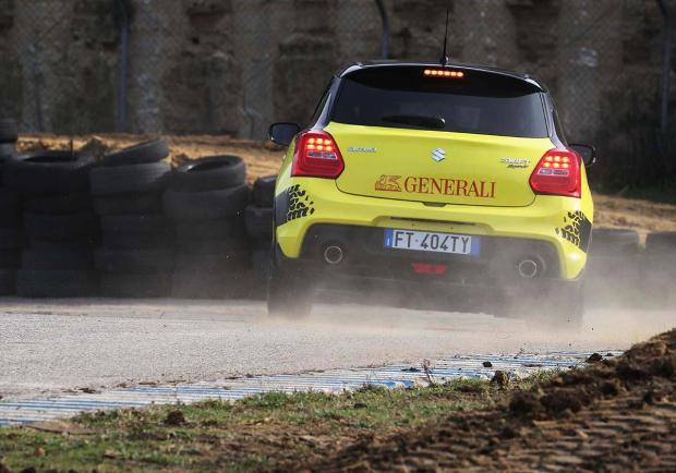 Aci Rally Italia Talent 2019 suzuki swift sport 2