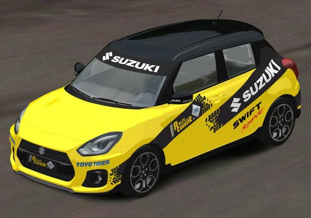 ACI Rally Italia Talent, Suzuki Swift Sport è l'auto ufficiale