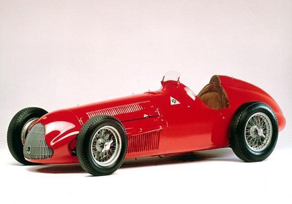 "Alfa Romeo GP Tipo 159 ""Alfetta"" al ""Goodwood Festival of Speed"""