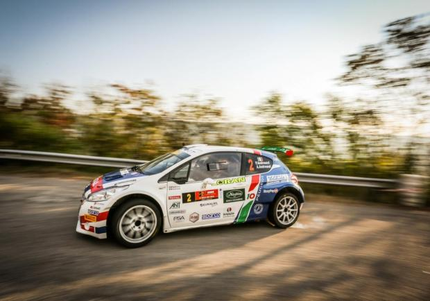 Andreucci 5 Peugeot 208 Rally Due Valli 2018
