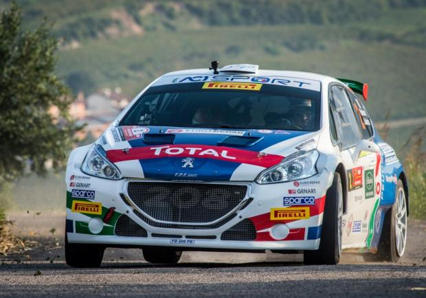 Andreucci Peugeot 208 Rally Due Valli 2018