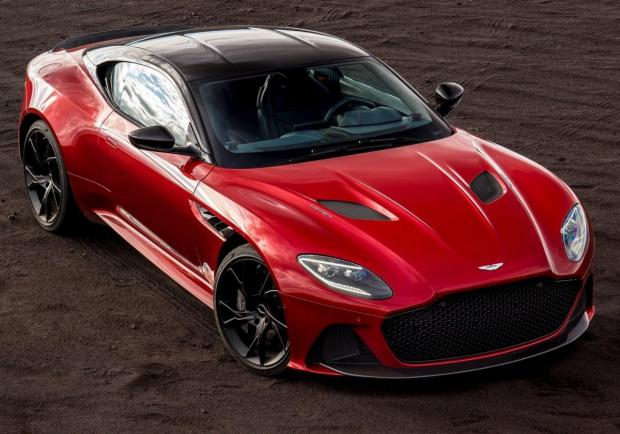 Aston Martin DBS Superleggera vista alto