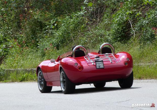 ATS STILE50 SPEEDSTER posteriore test drive