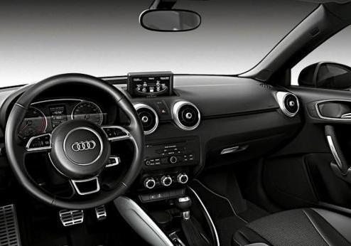 Audi A1 Amplified White interni