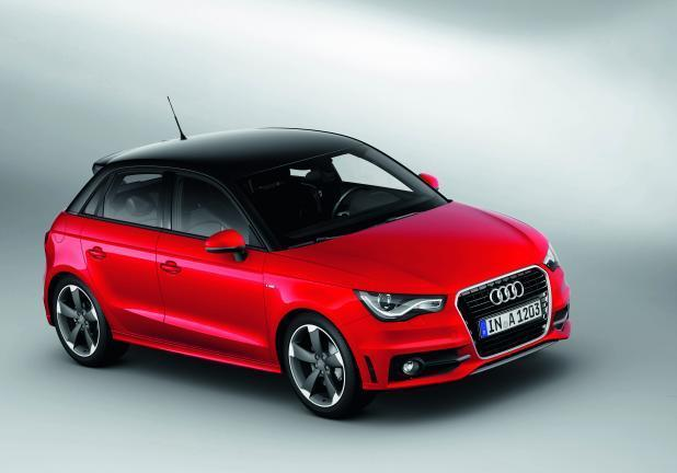 foto audi a1 sportback s line. Black Bedroom Furniture Sets. Home Design Ideas