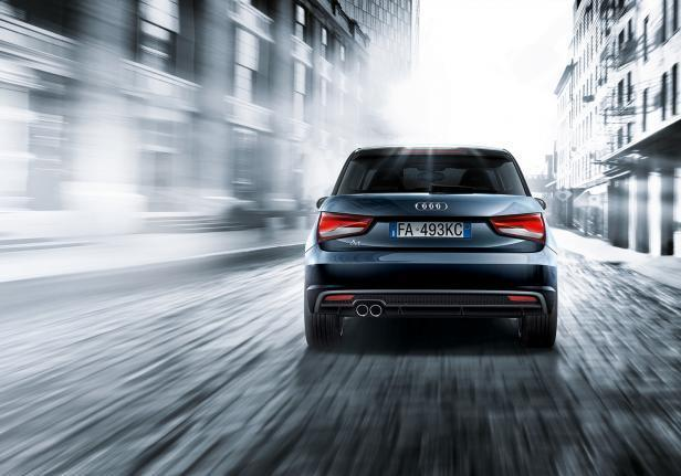 Audi A1 TFSI Admired posteriore
