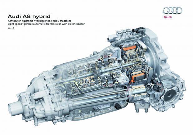 Foto Audi A8 Hybrid Cambio Automatico Tiptronic