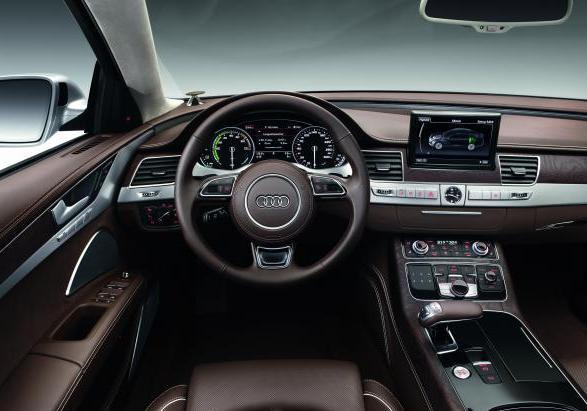 Foto Audi A8 Hybrid Interni