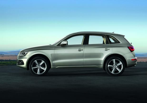 Audi Q5 restyling 2012 laterale