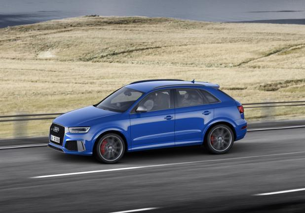 Audi RS Q3 Performance movimento