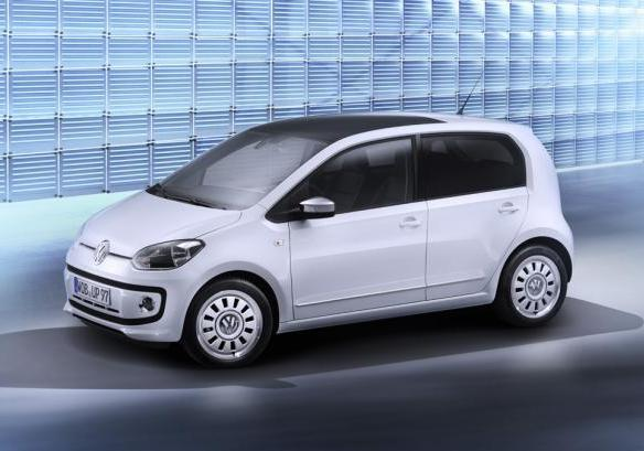 foto auto economiche 2012 volkswagen up. Black Bedroom Furniture Sets. Home Design Ideas