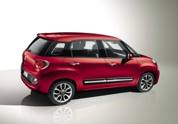 Auto Europa 2013 terza classificata Fiat 500L