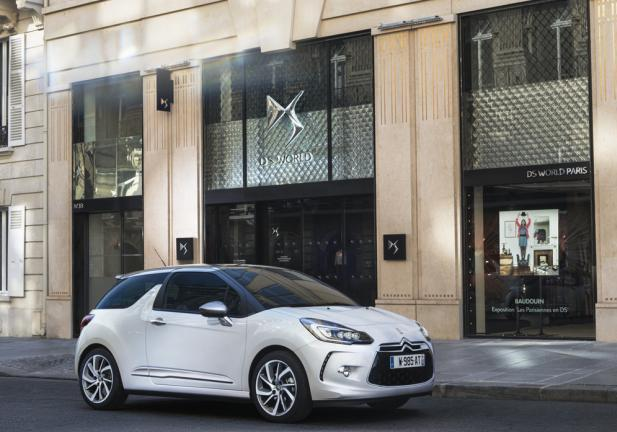 Auto guidabili dai neopatentati 2015 DS3