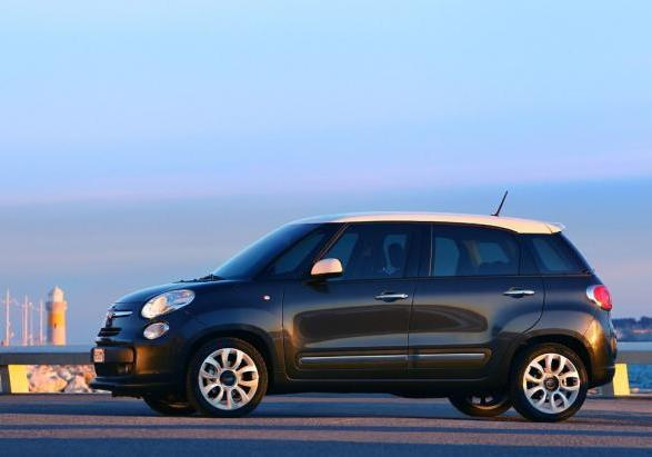 Auto a metano Fiat 500L Natural Power