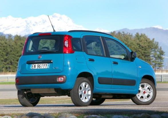 Auto a metano Fiat Panda Natural Power
