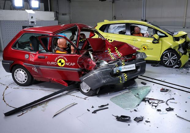 Le auto più sicure in base ai crash test EuroNCAP