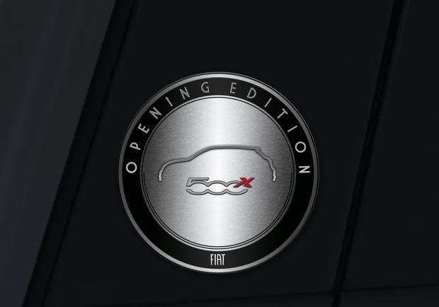 Badge Fiat 500X Opening Edition