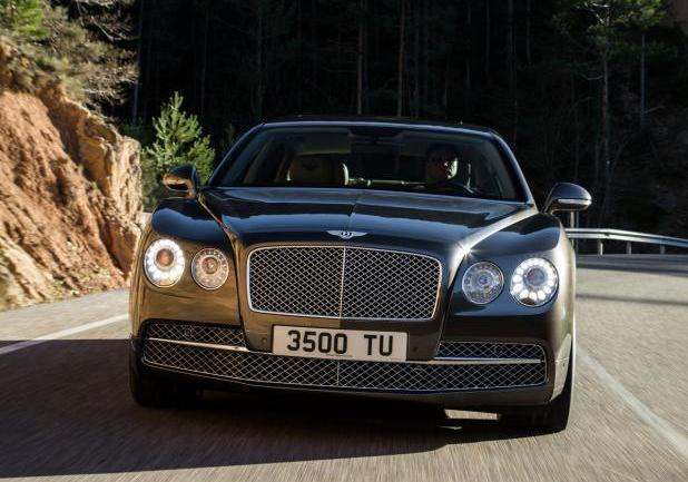 Bentley Continental Flying Spur restyling anteriore