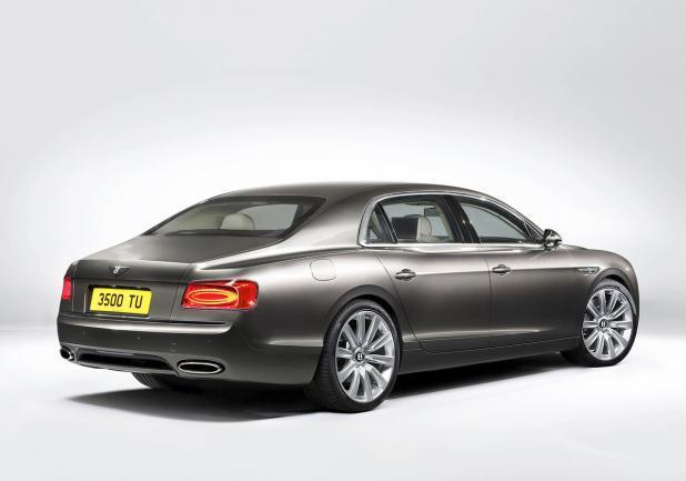 Bentley Continental Flying Spur restyling tre quarti posteriore lato destro