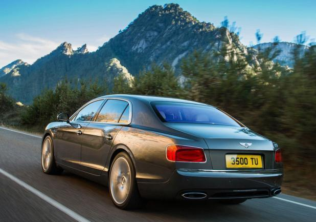 Bentley Continental Flying Spur restyling tre quarti posteriore lato sinistro