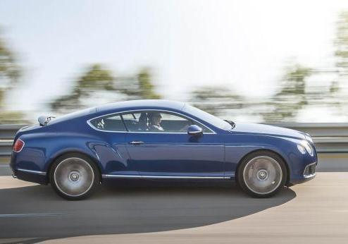Bentley Continental GT Speed profilo