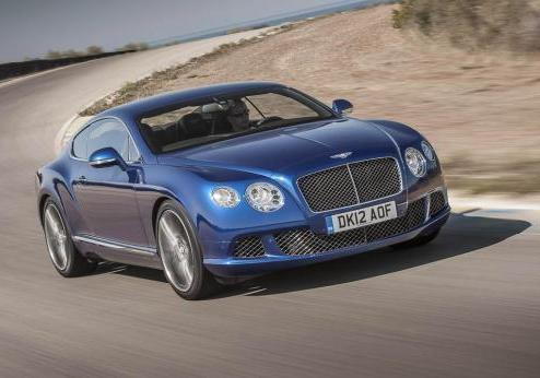 Bentley Continental GT Speed anteriore
