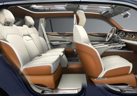 Bentley EXP 9 F Concept abitacolo 2