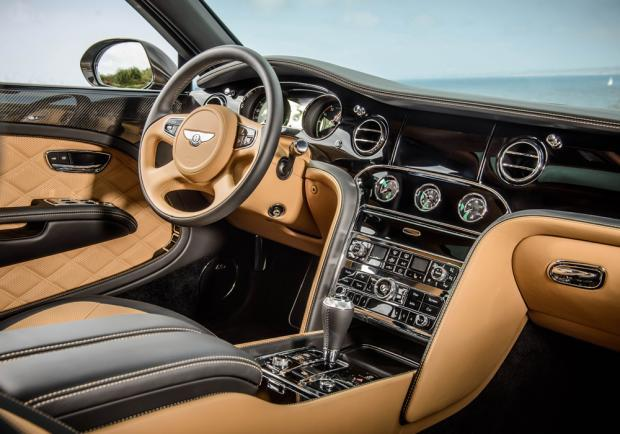 Bentley Mulsanne Speed interni