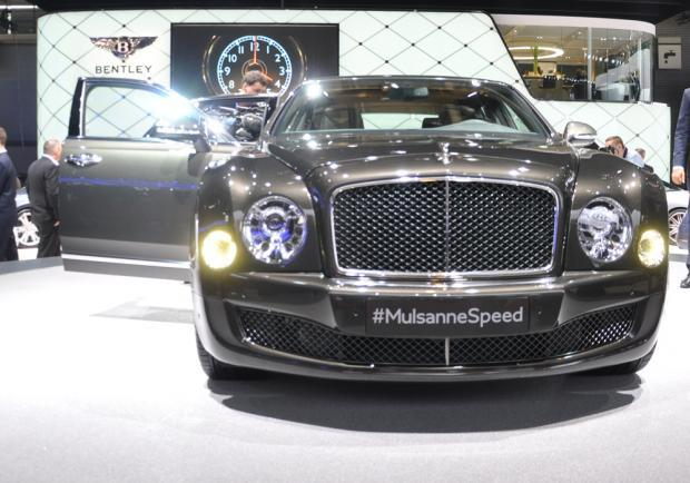Bentley Mulsanne Speed al Salone di Parigi 2014