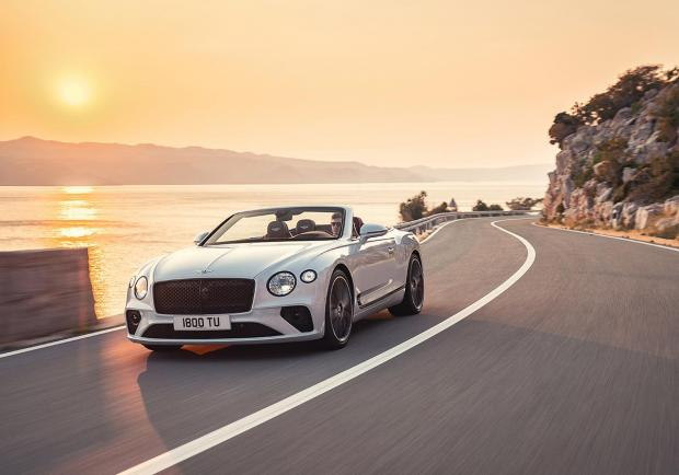 Bentley, nuova Continental GT Convertible 01