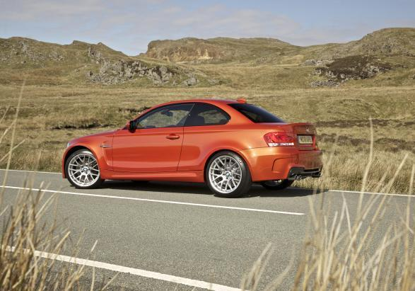 BMW 1M laterale