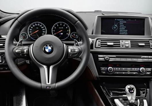BMW M6 Gran Coupé interni a Shangai