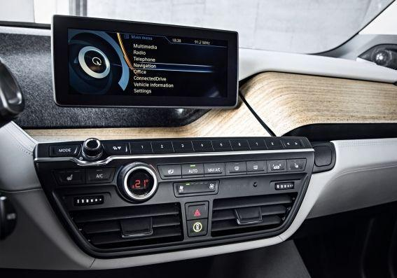 BMW i3 console centrale